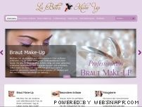 Mobiler Braut Make-Up Service  - La Bella